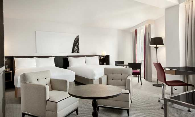 Hotel Hilton London Angel Islington, Regno Unito - Camera con due letti matrimoniali